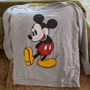 Disney Mickey Mouse Sweatshirt Large